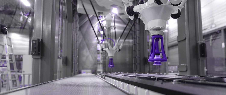 Robot Pick & Place machines