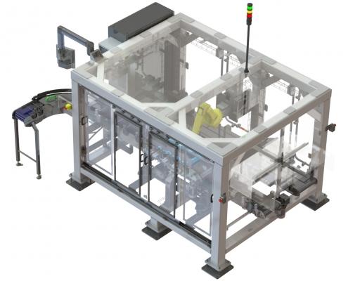 Robot dozen belader 3D ontwerp